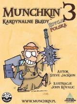 Obrazek gra planszowa Munchkin 3 - Kardynalne Błędy