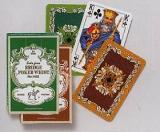 Karty Liście Dębu - Bridge Poker Whist (zielone)