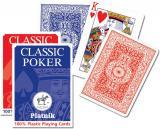 Karty - Classic Poker- plastik