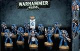 figurka, bitewniak SPACE MARINES TACTICAL SQUAD