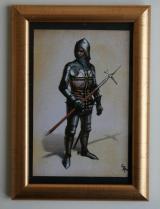 Obrazek replika Obrazek z ramką - Wielki Mistrz Krzyżacki