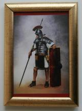 Obrazek replika Obrazek z ramką - Legionista Rzymski