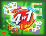 Obrazek gra planszowa Dinozaury - 4 w 1