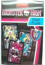 Karty Piotruś - Monster High