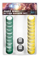 Mage Wars - Action Marker Set