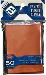 Koszulki FFG Standard Card Game Sleeves Czerwone (50 sztuk)