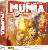 Obrazek gra planszowa Mumia - Wyścig w bandażach