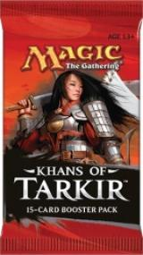 Magic The Gathering: Khans of Tarkir booster