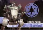 Imperium Atakuje: Generał Weiss, Dowódca Polowy