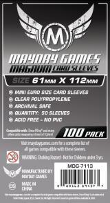 Koszulki Mayday 61 x 112 mm Magnum Platinum 100 szt. - Tarot