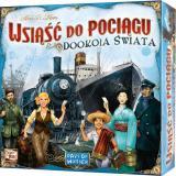 Obrazek gra planszowa Wsiąść do Pociągu: Dookoła Świata
