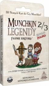 Obrazek gra planszowa Munchkin Legendy 2/3 - Faunie Igrzyska
