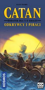 Catan: Odkrywcy i Piraci dodatek dla 5/6 graczy