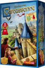 Obrazek gra planszowa Carcassonne (Edycja 2016)+Rzeka+Opat