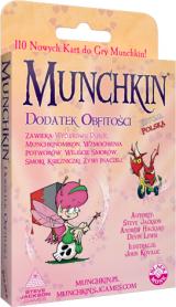 Obrazek gra planszowa Munchkin - Dodatek Obfitości