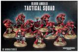 figurka, bitewniak Blood Angels Tactical Squad