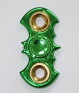 nieHand Spinner Metaliczny batmana zielony