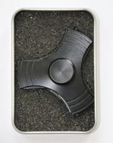 Hand Spinner Metalowy Wiatrak Czarny