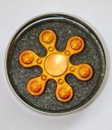 Hand Spinner Metalowy gwiazda złoty