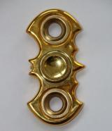 nieHand Spinner Metaliczny batmana złoty