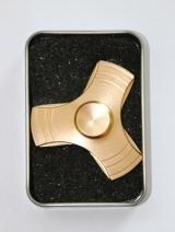 Hand Spinner Metalowy Wiatrak Złoty