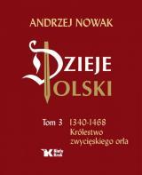 Obrazek książka, komiks Dzieje Polski. Tom 3. 1340-1468 Królestwo zwycięskiego orła