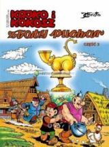 Obrazek książka, komiks Kajko i Kokosz. Tom 3. Złoty puchar. Część 3