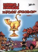 Obrazek książka, komiks Kajko i Kokosz. Tom 1. Złoty puchar. Część 1