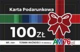Obrazek akcesorium do gry Karta Podarunkowa - 100 PLN