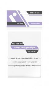 Koszulki Rebel (63,5x88 mm) Classic Card Game Light 100 sztuk