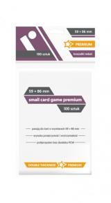 Obrazek akcesorium do gry Koszulki Rebel (59x86 mm) Premium Small Card Game 100 sztuk