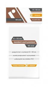 Koszulki Rebel (61x103 mm) Standard Czech Premium 100 sztuk
