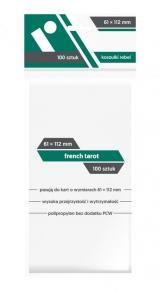 Koszulki Rebel (61x112 mm) French Tarot 100 sztuk