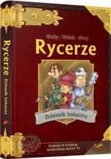 Obrazek książka, komiks Rycerze: Dziennik Bohatera