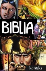 Obrazek książka, komiks Biblia (komiks)