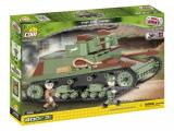 Obrazek figurka, bitewniak Small Army- 7TP DW - dwuwieżowy polski czołg lekki