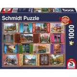 Obrazek puzzle PQ Puzzle 1000 el. Okno na Świat