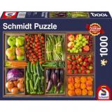 Obrazek puzzle PQ Puzzle 1000 el. Owoce i Warzywa