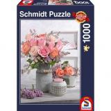 Obrazek puzzle PQ Puzzle 1000 el. Rustykalne Róże