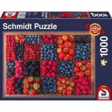 Obrazek puzzle PQ Puzzle 1000 el. Truskawki, Maliny, Jagody...