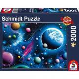 Obrazek puzzle PQ Puzzle 2000 el. Urzekający Kosmos