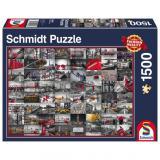 Obrazek puzzle PQ Puzzle 1500 el. Obrazy Miasta
