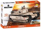 figurka, bitewniak Small Army- Churchill Il World of Tanks