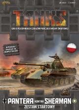 Obrazek figurka, bitewniak Tanks: Pantera kontra Sherman- zestaw startowy
