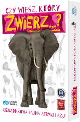 Czy wiesz, który zwierz... Kieszonkowa fauna Afryki i Azji