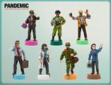 Pandemic (Pandemia) 10th Anniversary: Pomalowane figurki