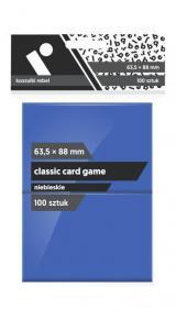Obrazek akcesorium do gry Koszulki Rebel (63,5x88 mm) Classic Card Game 100 sztuk Niebieskie