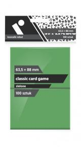Koszulki Rebel (63,5x88 mm) Classic Card Game 100 sztuk Zielone