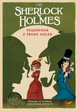 Obrazek książka, komiks Sherlock Holmes. Pojedynek z Irene Adler.