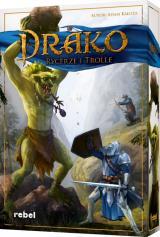 Obrazek gra planszowa Drako: Rycerze i Trolle